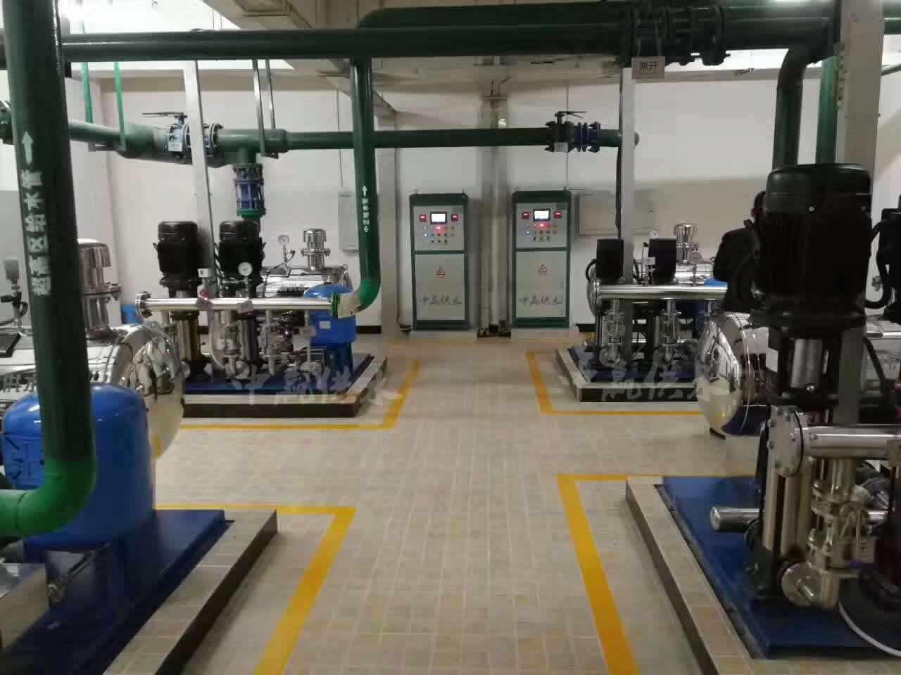 直联式管网叠压高楼增压供水设备产品图片