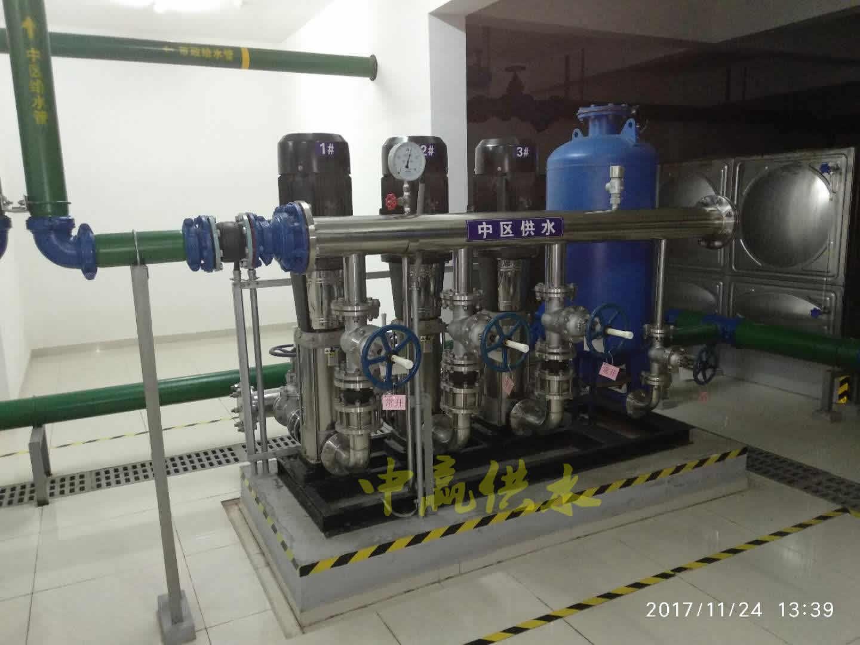 工厂矿业专用全自动无负压供水设备(自来水-加压设备-用水点)