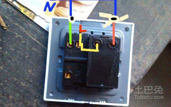 双控开关接线图在装修中对水电工的指导性(2017.8)