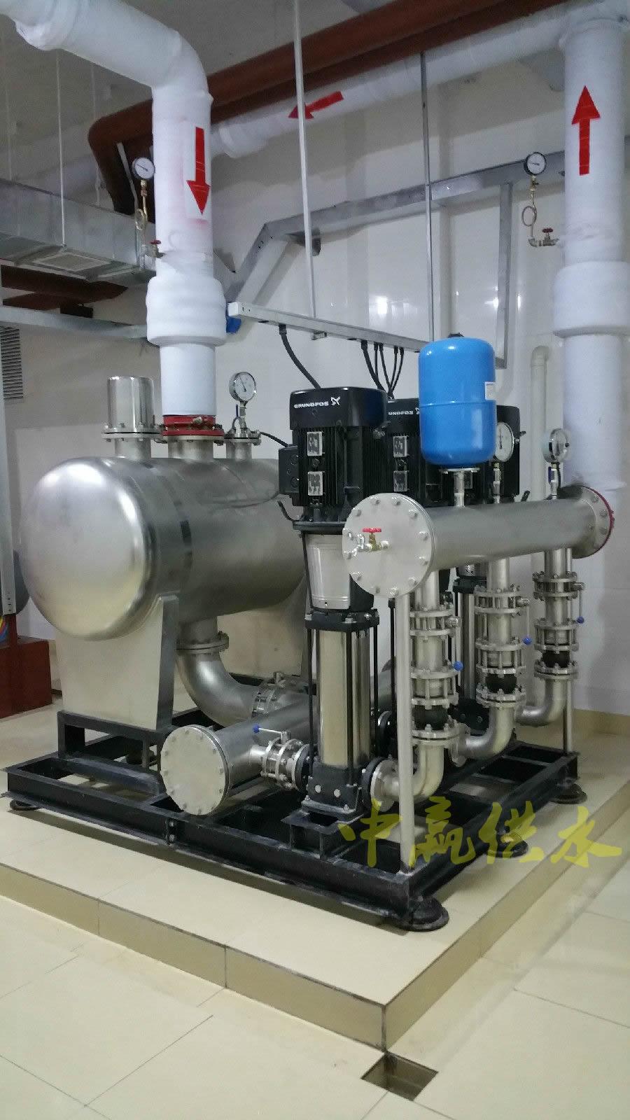 智能型箱式无负压给水设备(不锈钢水箱+无负压设备)